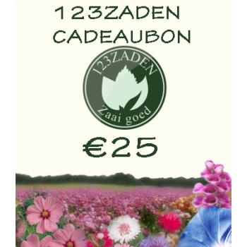 25 euro cadeaubon