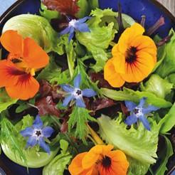 Edible flowermix