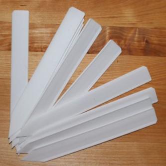 Plastic Labels 14 cm x 1,7 cm wit